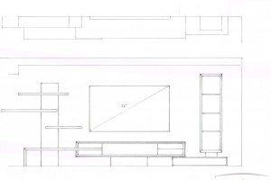 Initial Sketch - Luke Jones Furniture