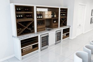 Wine Display CAD - Luke Jones Furniture