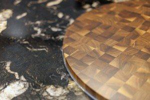 Kitchen Island Detail - Luke Jones Furniture