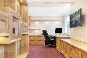 European Oak Study - Luke Jones Furniture