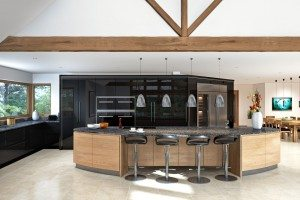 High-Gloss Kitchen CAD - Luke Jones Furniture