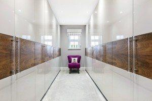Modern Dressing Room - Luke Jones Furniture
