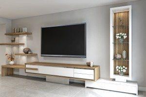 AV Cabinet Developed CAD - Luke Jones Furniture