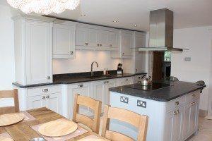 Painted Shaker Kitchen - Luke Jones Furniture