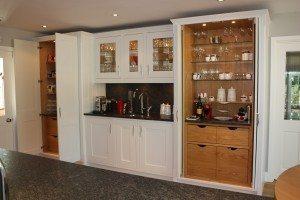 European Oak Pantry Cabinets - Luke Jones Furniture