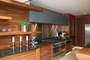 Bespoke American Black Walnut Kitchen - Luke Jones Furniture