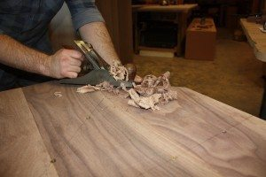 In the workshop - Luke Jones Furniture