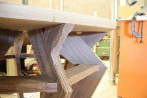 Dining Table Detail - Luke Jones Furniture