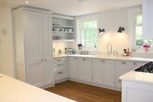 Traditional Cock-beaded Painted Kitchen - Luke Jones Furniture