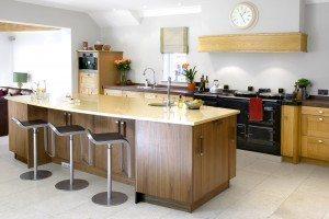 American Black Walnut & European Oak Bespoke Kitchen - Luke Jones Furniture