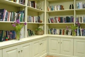 Painted Library - Luke Jones Furniture