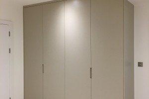 Modern Wardrobes with finger-pull - Luke Jones Furniture