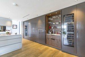 Pocket-door Pantry - Luke Jones Furniture